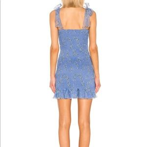 Amanda Uprichard Dresses - Amanda Uprichard x REVOLVE Amara Smocked MiniDress